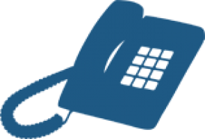 Graphic of a telephone