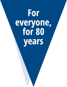 Icon for eveyone for 80 years flag